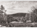 Kings Gap IR Overlook Pano - Fuji X-T1, IR converted, 18-135mm
