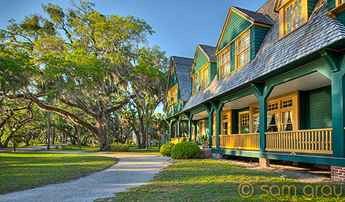 Historic District - Jekyll Island - D700, HDR
