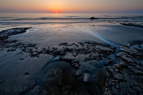 Sunrise on Jekyll Island - D700, 14-24mm f/2.8 @ f14