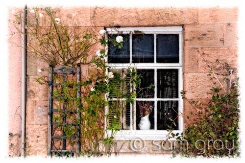 Cottage Window, Crail - Softer Version