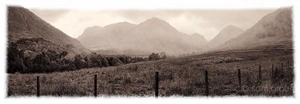 Glen Coe Panorama