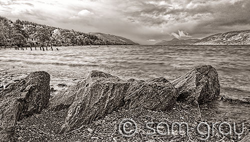 Loch Ness at Dores No 1
